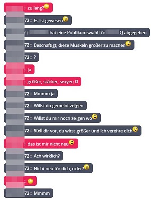 mennation test gay chat