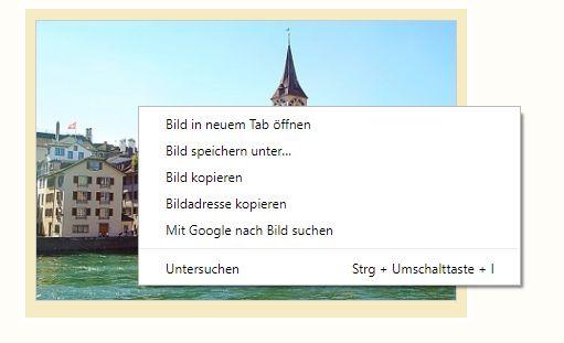 Google Rückwärtssuche am PC