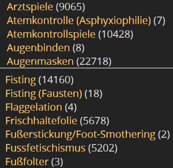 Fetischsuche bei Alt.com