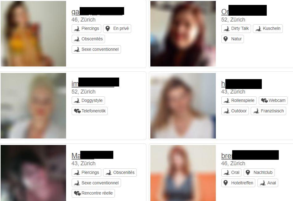 Cougartreff Profile reifer Frauen auf der Suche nach Toyboys