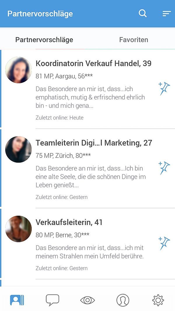 partnervorschlaege elitepartner app