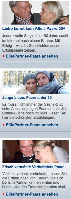 ElitePartner Liebesgeschichten