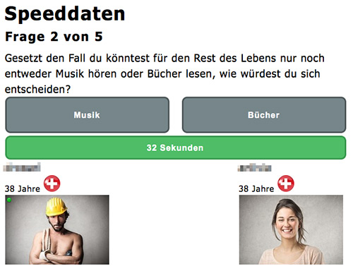 Speed dating winterthur
