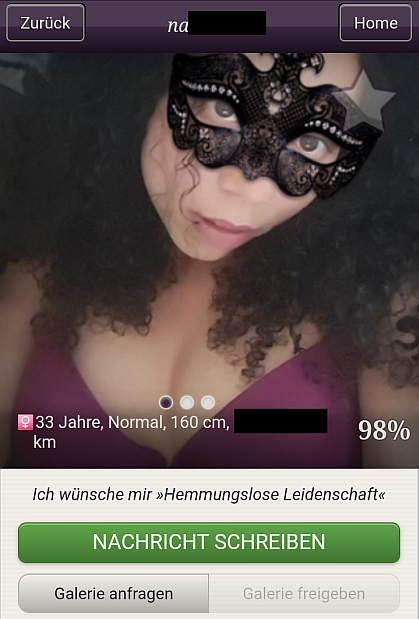 secret.de App Profil