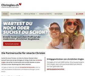 Chringles.ch screenshot