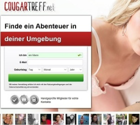 Cougartreff Schweiz screenshot