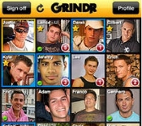 Grindr screenshot