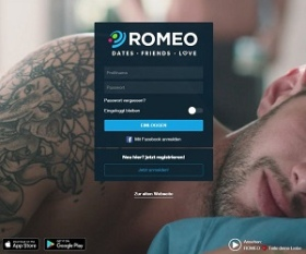 PlanetRomeo.com screenshot