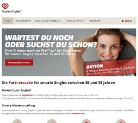 Supersingles.ch screenshot